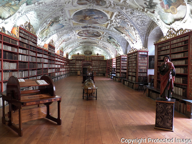 Strahov Library - Theological Hall: <br />