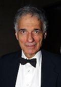 Washington, DC - May 1, 2004 -- Ralph Nader arrives for the 2004 White House Correspondents Association Dinner in Washington, D.C. on May 1, 2004..Credit: Ron Sachs / CNP.(RESTRICTION: No New York Metro or other Newspapers within a 75 mile radius of New York City)