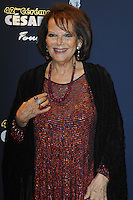 PARIS, FRANCE - FEBRUARY 24: Claudia Cardinale attends the Cesar's Dinner at Le Fouquet's on February 24, 2017 in Paris, France.