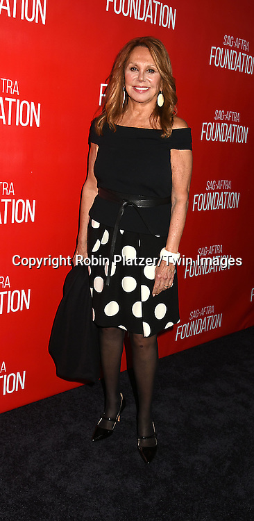 Marlo Thomas attends the Grand Opening of SAG-AFTRA Foundation Robin Williams Center on October 5, 2016 at The Robin Williams Center in New York, New York, USA.<br /> <br /> photo by Robin Platzer/Twin Images<br />  <br /> phone number 212-935-0770