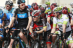 Waiting to start Stage 1 of the Tour of Qatar 2012 running from Barzan Towers to Doha Golf Club, Doha, Qatar. 5th February 2012.<br /> (Photo by Eoin Clarke/NEWSFILE).