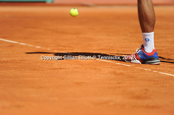 Novak Djokovic loses in Monte Carlo final on April 22, 2012.