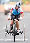 Shelley Gauthier, Rio 2016 - Para Cycling // Paracyclisme.<br /> Shelley Gauthier competes in the Women's Cycling Road T1-2 Race // Shelley Gauthier participent à la course cycliste féminine T1-2 sur route. 16/09/2016.