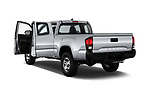 Car images close up view of a 2018 Toyota Tacoma SR Access Cab 4x2 4-Cyl Auto Long Bed 4 Door Pick Up doors
