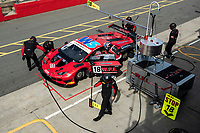 Drivers Michael Igoe & Phil Keen, Lamborghini Huracan GT3 EVO, WPI Motorsport changeover in qualifying during the British GT & F3 Championship on 10th July 2021