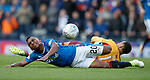 Alfredo Morelos taken out by Charles Dunne