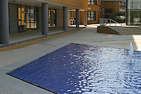 Water feature, University of Surrey.