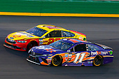 Monster Energy NASCAR Cup Series<br /> Quaker State 400<br /> Kentucky Speedway, Sparta, KY USA<br /> Saturday 8 July 2017<br /> Denny Hamlin, Joe Gibbs Racing, FedEx Freight Toyota Camry and Joey Logano, Team Penske, Shell Pennzoil/Autotrader Ford Fusion<br /> World Copyright: Russell LaBounty<br /> LAT Images