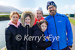 Enjoying a stroll in Blennerville on Sunday, l to r: Rachel, Hazel, Laura, Bernice and John O'Sullivan.