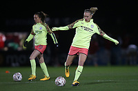 Pauline Bremer of Manchester City warms up during Arsenal Women vs Manchester City Women, FA Women's Continental League Cup Football at Meadow Park on 29th January 2020