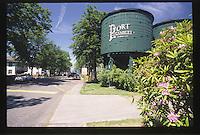 Port Gamble Water Tower, Port Gamble, Olympic Peninsula, Washington, US