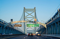 Ben Franklin Bridge, Philadelphia, Pennsylvania, USA