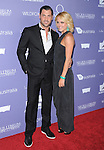 Maksim Chmerkovskiy and Peta Murgatroyd attends the Australians in Film 8th Annual Breakthrough Awards held at The Hotel Intercontinental in Century City, California on June 27,2012                                                                               © 2012 Hollywood Press Agency