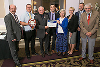 The team from Matlock Train Station, winners of the East Midlands Trains Best Smaill Station