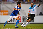 Players of Kitchee FC and Al Faisaly in action during their AFC Cup Quarter-Final first leg match on 17 September 2013 at the Mongkok Stadium in Hong Kong, China. Photo by Victor Fraile / The Power of Sport Images