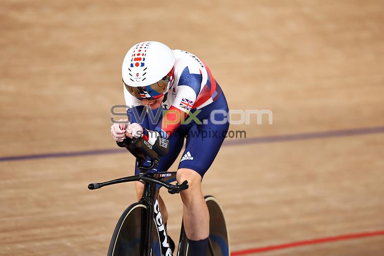 Picture by Alex Whitehead/SWpix.com - Tokyo Paralympics 2020 - 25/08/2021 - Track Cycling - Izu Velodrome, Izu, Japan<br /> - Women's C5 3000m Individual Pursuit Gold Winner Dame Sarah Storey