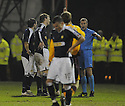 11/02/2008    Copyright Pic: James Stewart.File Name : sct_jspa23_motherwell_v_dundee.KEVIN MCDONALD IS SENT OFF.James Stewart Photo Agency 19 Carronlea Drive, Falkirk. FK2 8DN      Vat Reg No. 607 6932 25.Studio      : +44 (0)1324 611191 .Mobile      : +44 (0)7721 416997.E-mail  :  jim@jspa.co.uk.If you require further information then contact Jim Stewart on any of the numbers above........