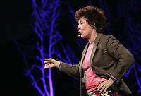 Pictured: Ruby Wax talking about her book Frazzled Monday 30 May 2016<br /> Re: Hay Festival, Hay on Wye, Wales, UK