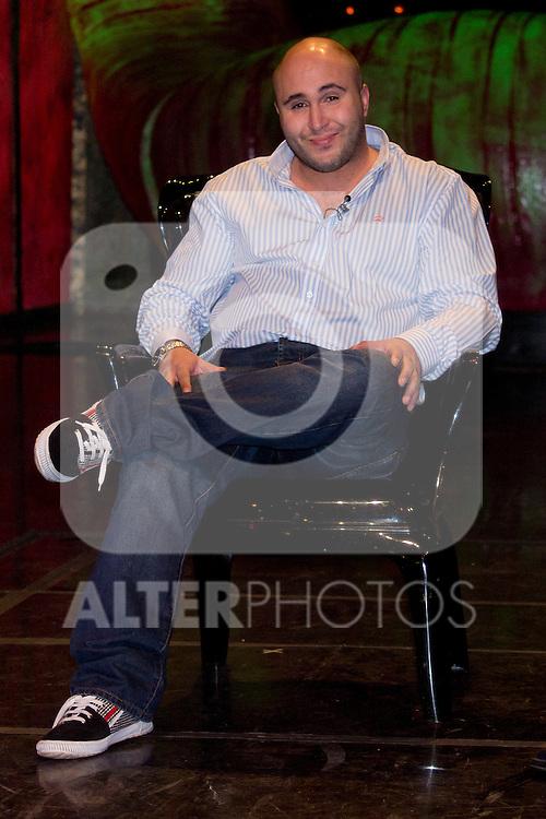 """10.04.2012.Rueda de prensa de Presentación de  Tú Sí Que Vales, El Espectáculo en El Teatro Häagen-Dazs Calderón (Madrid) con la presencia de Kiko Rivera (jurado), El Sevilla (presentador)e Iñaki Fernández (Representante de la productora). En la imagen: Kiko Rivera  (Alterphotos/Marta Gonzalez)..10.04.2012. Press conference of presentation of """"You really are worth, The Show"""" in Teatro Häagen-Dazs Calderón (Madrid) with the presence of Kiko Rivera (jury), Sevilla (presenter) and Inaki Fernandez (Representative of the production). In the image: Kiko Rivera (Alterphotos/Marta Gonzalez)"""