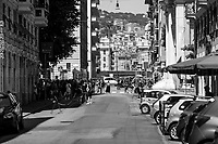 """Via Caffa and Piazza Alimonda, renamed as Piazza Carlo Giuliani, Ragazzo.<br /> <br /> Genoa, Italy. 19, 20, 21 July 2021. Twenty years after the dramatic and terrifying events related to the 2001 Genoa's G8 meeting, according to Amnesty International: """"the most serious suspension of democratic rights in a Western country since the Second World War"""" (1.) and as stated on the 2001 """"Report on the situation of fundamental rights in the EU"""" the European Parliament """"deplores the suspensions of fundamental rights that took place during public demos, and in particular at the G8 meeting in Genoa, such as freedom of expression, freedom of movement, the right to physical integrity"""" (2.). As a reminder, the City of Genoa is State Gold Medal (Medaglia D'Oro) for its Antifascist Resistance in World War II.<br /> Some photos, part of this story, are presented appositely in Black & White to show to the audience """"the Places"""" where the majority of - the already mentioned (see above) - """"suspensions of fundamental rights […] such as freedom of expression, freedom of movement, the right to physical integrity"""" (2.) happened.<br /> In these three days, throughout a series of events, Genoa and its People, survivors and witnesses, experts and activists, remembered what happened 20 years ago, discussed the present situation of a world dominated by """"casino capitalism""""...<br /> <br /> FULL CAPTION AT THE BEGINNING OF THIS STORY.<br /> <br /> Footnotes, Links, Sources:<br /> <br /> 1. http://bit.do/fRvdg<br /> 2. http://bit.do/fRvdi<br /> 3. http://bit.do/fRvdj<br /> 4. http://bit.do/fRvdn<br /> 5. http://bit.do/fRvdo<br /> 6. http://bit.do/fRvdr<br /> 7. http://bit.do/fRvdt & http://bit.do/fRvdu<br /> 8. http://bit.do/fRvdv & http://bit.do/fRvdw & http://bit.do/fRvdx<br /> 9. http://bit.do/fRvdz<br /> 10. http://bit.do/fRvdA<br /> 11. http://bit.do/fRvdB<br /> http://www.veritagiustizia.it/doc_eng/<br /> https://www.carlogiuliani.it<br /> https://en.wikipedia.org/wiki/Death_of_Carlo_Giuliani<"""
