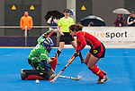 Hockey World League Round 2 - Valencia 2013.<br /> Italy (1)vs(1) Spain. Spain wins at Shot Out Sudden Death.<br /> March 1, 2013.