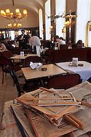 Europe/Autriche/Niederösterreich/Vienne:  jouranux mis à la disposition pour les clients au Café Diglas