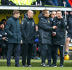 03.11.18 St Mirren v Rangers: Michael Beale not happy with Willie Collum as Daniel Candeias sees red