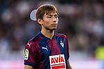 Takashi Inui of SD Eibar looks on prior to the La Liga 2017-18 match between Real Madrid and SD Eibar at Estadio Santiago Bernabeu on 22 October 2017 in Madrid, Spain. Photo by Diego Gonzalez / Power Sport Images