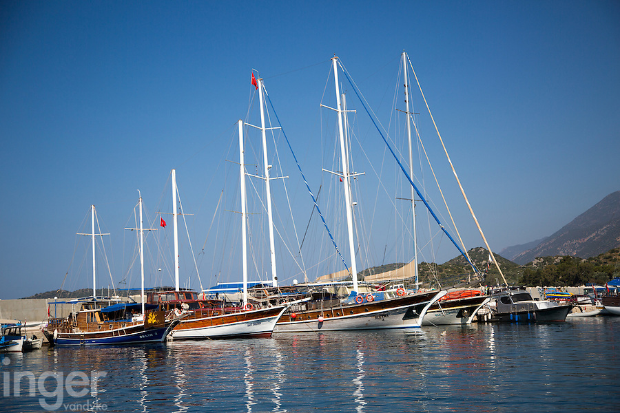 The harbour at Kas, Turkey