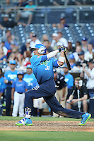 Royce Lewis (31) of the West Team bats against the East Team during the Perfect Game All American Classic at Petco Park on August 14, 2016 in San Diego, California. West Team defeated the East Team, 13-0. (Larry Goren/Four Seam Images)