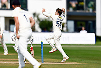 Marcus O'Riordan bowls for Kent during Kent CCC vs Sussex CCC, LV Insurance County Championship Group 3 Cricket at The Spitfire Ground on 13th July 2021