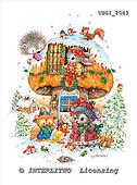 GIORDANO, CHRISTMAS ANIMALS, WEIHNACHTEN TIERE, NAVIDAD ANIMALES, paintings+++++,USGI2043,#XA#
