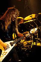FILE - Metallica<br />  , circa 1985<br /> <br /> Photo : Harold Beaulieu<br />   - Agence Quebec Presse