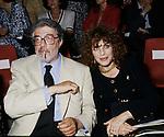ETTORE  SCOLA E SIMONA MARCHINI <br />  BALLETTO RUSSSO A CIRCO MASSIMO ROMA 1990