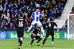 Alberto Bueno Calvo of Deportivo Leganes in action during their La Liga match between Deportivo Leganes and Real Madrid at the Estadio Municipal Butarque on 05 April 2017 in Madrid, Spain. Photo by Diego Gonzalez Souto / Power Sport Images