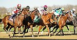 APR 03, 2021 : Search Results with Irad Ortiz Jr. aboard wins the Grade 3  Gazelle Stakes, for 3- year old fillies going 1 1/8 mile, earning 100 points for the Kentucky Oaks. Aqueduct Racetrack, Ozone Park, NY. Dan Heary-Eclipse Sportswire-CSM