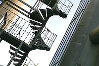 Fire escape, University of Surrey.
