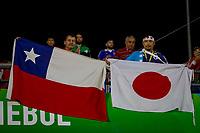 SÃO PAULO, SP 17.06.2019: JAPÃO-CHILE - Torcida. Japão e Chile durante partida válida pela primeira rodada do grupo C da Copa América Brasil 2019, que acontece no estádio do Morumbi, zona oeste da capital paulista na noite desta segunda-feira (17). (Foto: Ale Frata/Código19)
