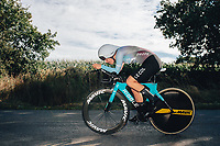 6th October 2021 Womens Cycling Tour, Stage 3. Individual Time Trial; Atherstone to Atherstone. April Tacey.