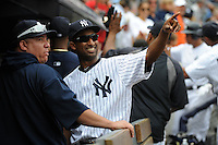 New York Yankees second baseman Robinson Cano #24 hits a grand slam home run during a game against the Baltimore Orioles at Yankee Stadium on September 5, 2011 in Bronx, NY.  Yankees defeated Orioles 11-10.  Tomasso DeRosa/Four Seam ImagesNew York Yankees infielder Eduardo Nunez #26 during a game against the Baltimore Orioles at Yankee Stadium on September 5, 2011 in Bronx, NY.  Yankees defeated Orioles 11-10.  Tomasso DeRosa/Four Seam Images
