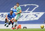 02.05.2021 Rangers v Celtic: Alfredo Morelos and Mohamed Elyounoussi