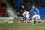St Johnstone v Inverness Caley Thistle…09.03.16  SPFL McDiarmid Park, Perth<br />David Wotherspoon misses form the penalty spot<br />Picture by Graeme Hart.<br />Copyright Perthshire Picture Agency<br />Tel: 01738 623350  Mobile: 07990 594431