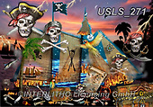 Lori, LANDSCAPES, LANDSCHAFTEN, PAISAJES, paintings+++++Pirate Puzzle_2,USLS271,#l#, EVERYDAY ,puzzle,puzzles