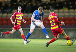 Partick Thistle v St Johnstone…23.02.16   SPFL   Firhill, Glasgow<br />Liam Craig shoots for goal<br />Picture by Graeme Hart.<br />Copyright Perthshire Picture Agency<br />Tel: 01738 623350  Mobile: 07990 594431
