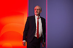 © Joel Goodman - 07973 332324 . 25/09/2016 . Liverpool , UK . Labour leader JEREMY CORBYN at the ACC in Liverpool , during the first day of the Labour Party Conference . Photo credit : Joel Goodman