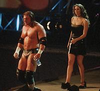 Triple H  Stephanie McMahon 2001                                                                      Photo by  John Barrett/PHOTOlink