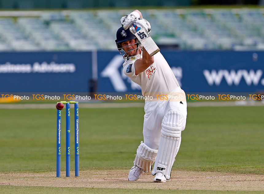 Joe Denly bats for Kent during Kent CCC vs Northamptonshire CCC, LV Insurance County Championship Group 3 Cricket at The Spitfire Ground on 5th June 2021