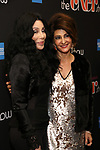 "Cher and Nia Vardalos attends the Broadway Opening Night Performance of ""The Cher Show""  at the Neil Simon Theatre on December 3, 2018 in New York City."