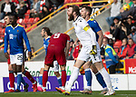 Aberdeen v St Johnstone…18.09.21  Pittodrie    SPFL<br />Zander Clark and Jamie McCart shout at referee Bobby Madden<br />Picture by Graeme Hart.<br />Copyright Perthshire Picture Agency<br />Tel: 01738 623350  Mobile: 07990 594431