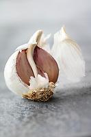 Gastronomie Générale / Diététique / Ail Violet Bio //  General Gastronomy / Diet / Organic Purple Garlic